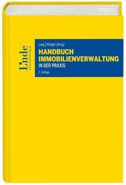 Handbuch Immobilienverwaltung in der Praxis von Klinger,  Michael, Lang,  Veronika