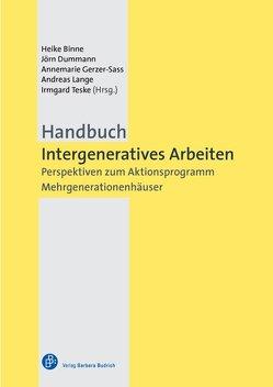 Handbuch Intergeneratives Arbeiten von Binne,  Heike, Dummann,  Jörn, Gerzer-Sass,  Annemarie, Lange,  Andreas, Teske,  Irmgard