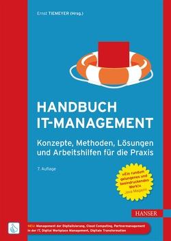 Handbuch IT-Management von Tiemeyer,  Ernst