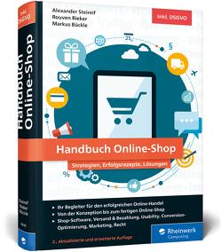 Handbuch Online-Shop von Bückle,  Markus, Rieker,  Rouven Alexander, Steireif,  Alexander