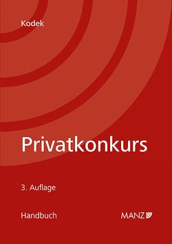 Handbuch Privatkonkurs von Kodek,  Georg