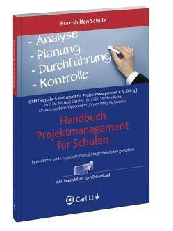Handbuch Projektmanaqgement von Uhlig-Schoenian,  Jürgen