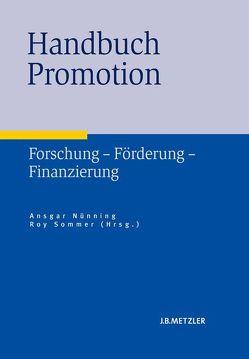 Handbuch Promotion von Nünning,  Ansgar, Sommer,  Roy