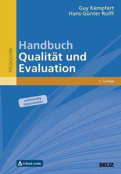 Handbuch Qualität und Evaluation von Kempfert,  Guy, Rolff,  Hans-Günter