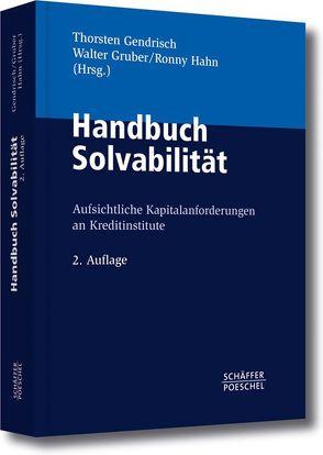 Handbuch Solvabilität von Gendrisch,  Thorsten, Gruber,  Walter, Hahn,  Ronny