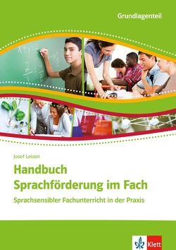 Handbuch Sprachförderung im Fach von Leisen,  Josef