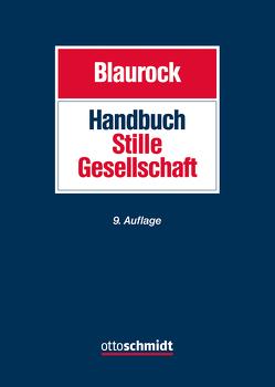 Handbuch Stille Gesellschaft von Blaurock,  Uwe, Kauffeld,  Hans-Georg, Lamprecht,  Philipp, Levedag,  Christian, Teufel,  Tobias, Wachter,  Thomas