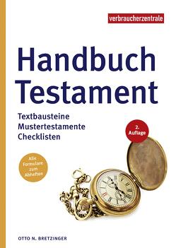 Handbuch Testament von Bretzinger,  Otto N.
