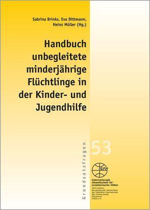 Handbuch unbegleitete minderjährige Flüchtlinge von Brinks,  Sabrina, Dittmann,  Eva, Müller,  Heinz