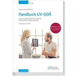 Handbuch UV-GOÄ von Berner,  Barbara