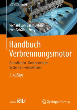Handbuch Verbrennungsmotor von Schäfer,  Fred, van Basshuysen,  Richard