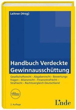 Handbuch verdeckte Gewinnausschüttung von Leitner,  Roman
