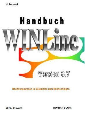 Handbuch WINLine Vers. 8.7 von Ponsold,  Hans