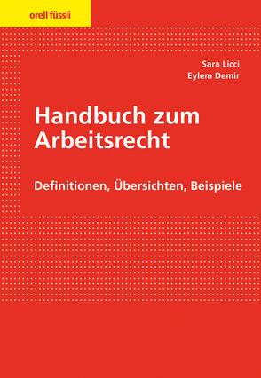 Handbuch zum Arbeitsrecht von Demir,  Eylem, Licci,  Sara