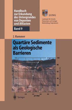 Handbuch zur Erkundung des Untergrundes von Deponien und Altlasten von Hammer,  Jörg