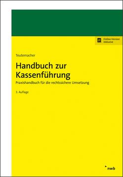 Handbuch zur Kassenführung von Teutemacher,  Tobias