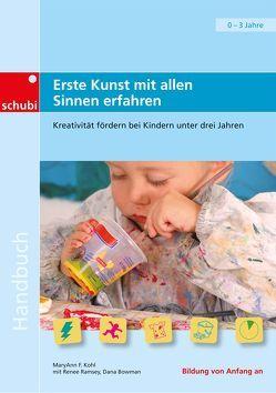 Handbücher für die frühkindliche Bildung / Erste Kunst mit allen Sinnen erfahren von Kohl,  MaryAnn