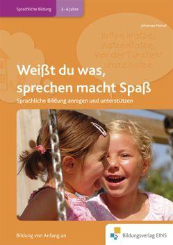 Handbücher für die frühkindliche Bildung / Weißt du was, sprechen macht Spaß von Merkel,  Johannes