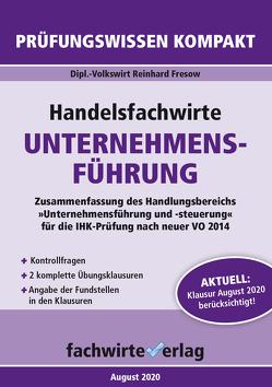 Handelsfachwirte: Unternehmensführung von Fresow,  Reinhard