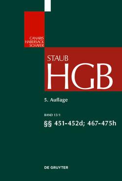 Handelsgesetzbuch / §§ 451-475h von Bodungen,  Benjamin von, Krolop,  Kaspar