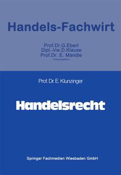 Handelsrecht von Klunzinger,  Eugen
