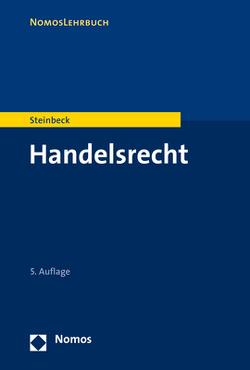 Handelsrecht von Steinbeck,  Anja