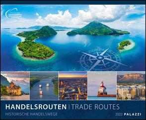 Handelsrouten 2022 – Bild-Kalender – Wand-Planer – 60×50