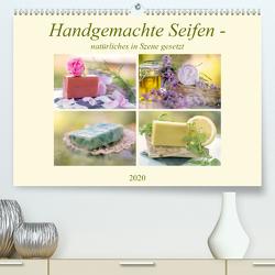 Handgemachte Seifen – natürliches in Szene gesetzt (Premium, hochwertiger DIN A2 Wandkalender 2020, Kunstdruck in Hochglanz) von Riedel,  Tanja