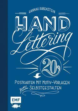 Handlettering: 20 Postkarten mit Motiv-Vorlagen zum Selbstgestalten von Rabenstein,  Hannah