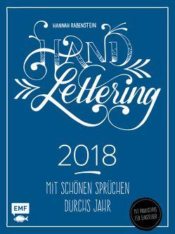 Handlettering Wochenkalender 2018 von Rabenstein,  Hannah