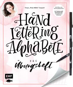 Handlettering Alphabete – Das Übungsheft mit original Tombow ABT Dual Brush Pen von Cappell,  Tanja