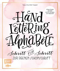 Handlettering Alphabete von Cappell,  Tanja