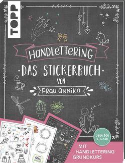 Handlettering. Das Stickerbuch von Frau Annika von Frau Annika