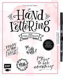 Handlettering – Das Vorlagenbuch – Mit original Tombow ABT Dual Brush Pen von Cappell,  Tanja