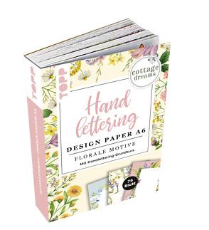 Handlettering Design Paper Block Cottage Dreams A6 von Blum,  Ludmila