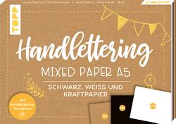 Handlettering Mixed Paper Block A5 von Blum,  Ludmila, frechverlag
