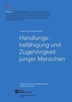 Handlungsbefähigung und Zugehörigkeit junger Menschen von Höfer,  Renate, Straus,  Florian
