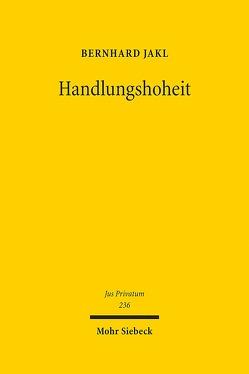 Handlungshoheit von Jakl,  Bernhard