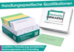 Handlungsspezifische Qualifikationen – Lernkarten Investition, Finanzierung, betriebliches Rechnungswesen & Controlling von Guttmann,  David