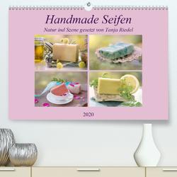 Handmade Seifen – Natur in Szene gesetztCH-Version (Premium, hochwertiger DIN A2 Wandkalender 2020, Kunstdruck in Hochglanz) von Riedel,  Tanja