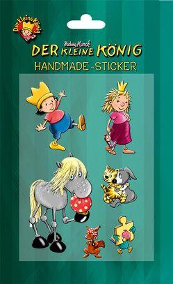 """Handmade-Sticker """"Der kleine König"""" von Munck,  Hedwig"""