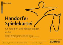 Handorfer Spielekartei für Voltigier- und Reitpädagogen von Berger,  Hildegard, Ehring-Hüttemann,  Barbara, Everding-Kraß,  Mechthild, Gohl,  Uschi, Heermann,  Sigrid