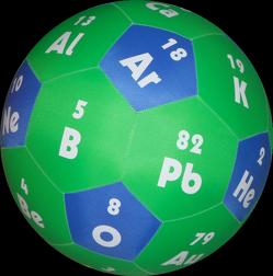 HANDS ON Lernspielball – Elemente des Periodensystems