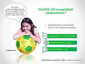 HANDS ON Lernspielball – Maßeinheiten