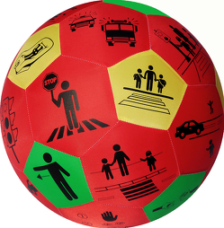 HANDS ON Lernspielball – Verkehrserziehung