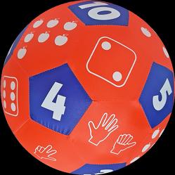 HANDS ON Lernspielball – Zahlen und Mengen im Zahlenraum bis 10