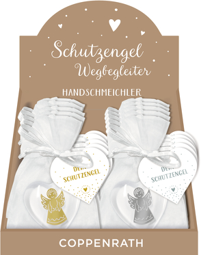 Handschmeichler Kunstharz – Herz mit Engel