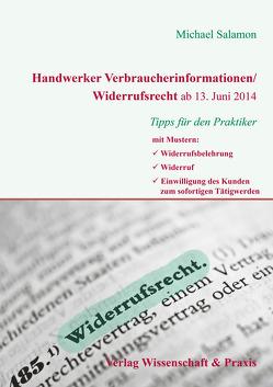 Handwerker Verbraucherinformationen/Widerrufsrecht ab 13. Juni 2014