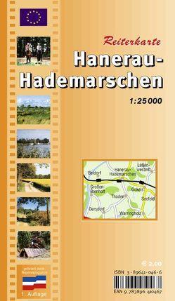 Hanerau-Hademarschen Reiterkarte