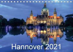Hannover 2021 (Tischkalender 2021 DIN A5 quer) von Hasche,  Joachim